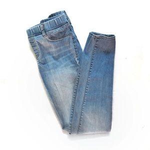 Gap Girls Pull On Denim Skinny Jean Legging • 14